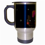 Nyan Cat Travel Mug (Silver Gray) Left