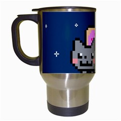 Nyan Cat Travel Mugs (White)