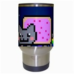 Nyan Cat Travel Mugs (White) Center