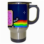 Nyan Cat Travel Mugs (White) Right