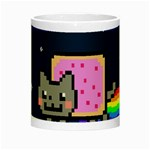 Nyan Cat Night Luminous Mugs Center