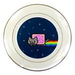 Nyan Cat Porcelain Plates Front