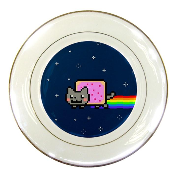 Nyan Cat Porcelain Plates