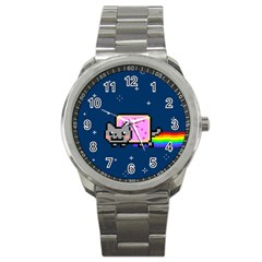 Nyan Cat Sport Metal Watch