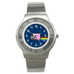 Nyan Cat Stainless Steel Watch Front