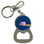 Nyan Cat Bottle Opener Key Chains Front