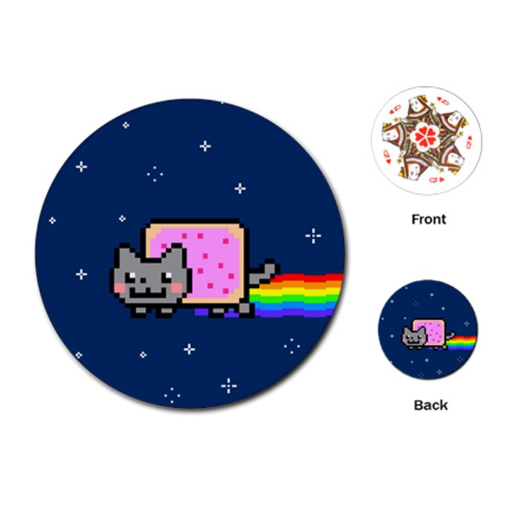 Nyan Cat Playing Cards (Round)