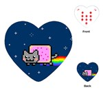 Nyan Cat Playing Cards (Heart)  Front
