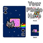 Nyan Cat Playing Cards 54 Designs  Front - Club10