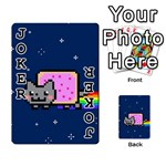 Nyan Cat Playing Cards 54 Designs  Front - Joker1