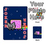 Nyan Cat Playing Cards 54 Designs  Front - Joker2