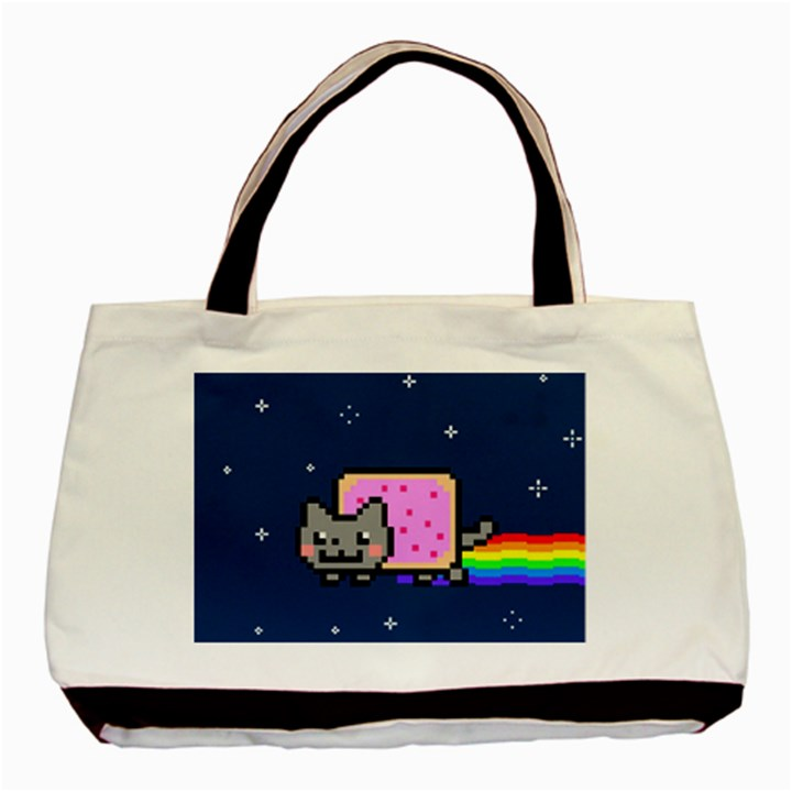 Nyan Cat Basic Tote Bag
