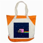 Nyan Cat Accent Tote Bag Front