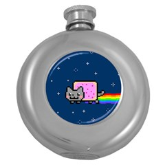 Nyan Cat Round Hip Flask (5 oz)