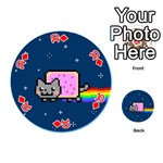 Nyan Cat Playing Cards 54 (Round)  Front - Diamond10