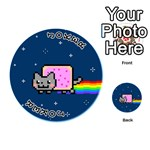 Nyan Cat Playing Cards 54 (Round)  Front - Joker1