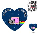 Nyan Cat Playing Cards 54 (Heart)  Front - Joker1