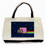 Nyan Cat Basic Tote Bag (Two Sides) Front