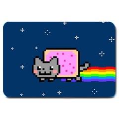 Nyan Cat Large Doormat