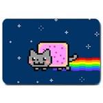 Nyan Cat Large Doormat  30 x20 Door Mat - 1