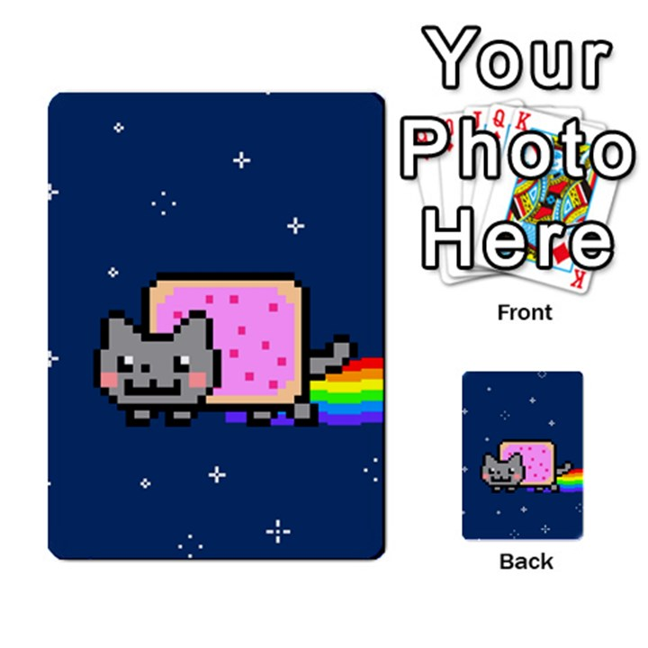 Nyan Cat Multi-purpose Cards (Rectangle)