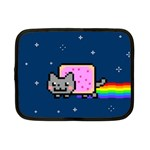 Nyan Cat Netbook Case (Small)  Front