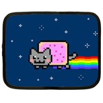 Nyan Cat Netbook Case (Large) Front