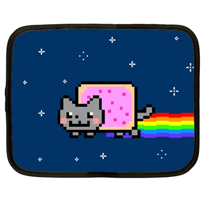 Nyan Cat Netbook Case (Large)