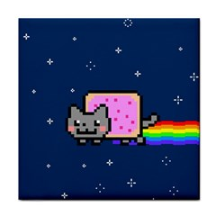 Nyan Cat Face Towel