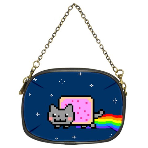 Nyan Cat Chain Purses (One Side)