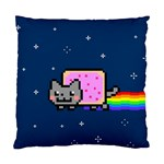Nyan Cat Standard Cushion Case (Two Sides) Front