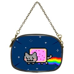 Nyan Cat Chain Purses (two Sides)