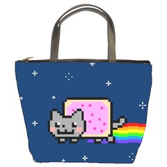 Nyan Cat Bucket Bags