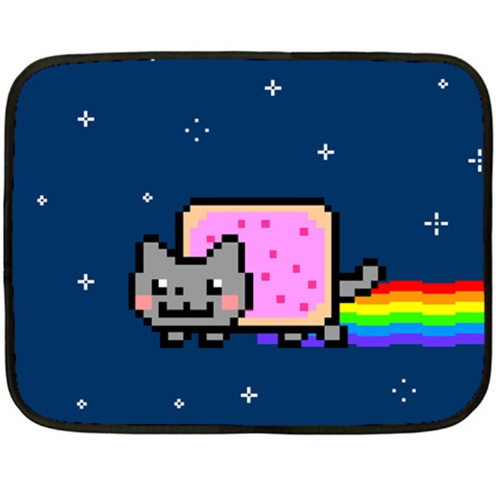 Nyan Cat Double Sided Fleece Blanket (Mini)