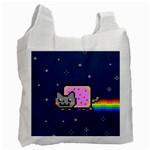 Nyan Cat Recycle Bag (One Side) Front