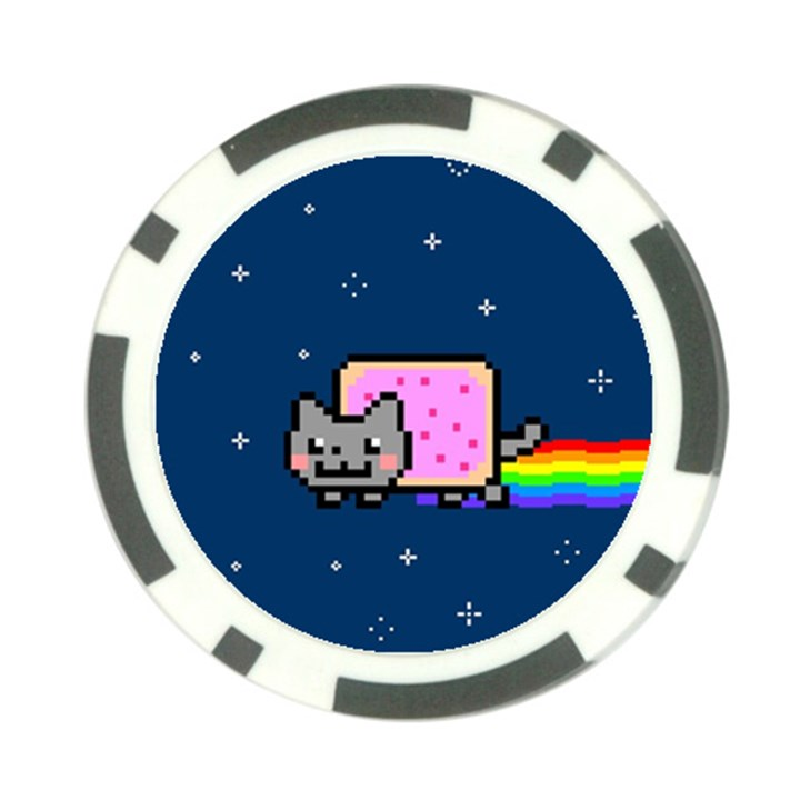 Nyan Cat Poker Chip Card Guards (10 pack)