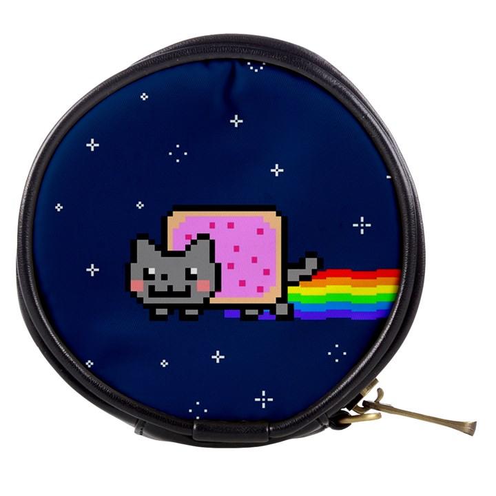 Nyan Cat Mini Makeup Bags