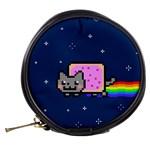 Nyan Cat Mini Makeup Bags Back
