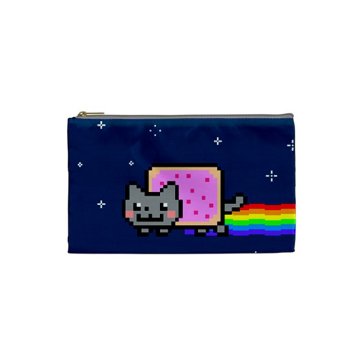 Nyan Cat Cosmetic Bag (Small)