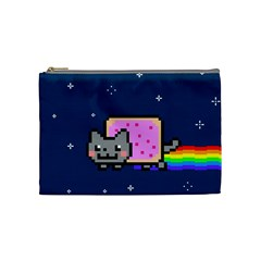 Nyan Cat Cosmetic Bag (medium)