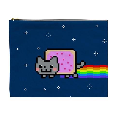 Nyan Cat Cosmetic Bag (XL)