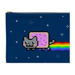 Nyan Cat Cosmetic Bag (XL) Front