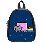Nyan Cat School Bags (Small)  Front