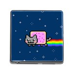 Nyan Cat Memory Card Reader (Square) Front
