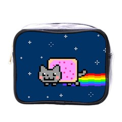 Nyan Cat Mini Toiletries Bags