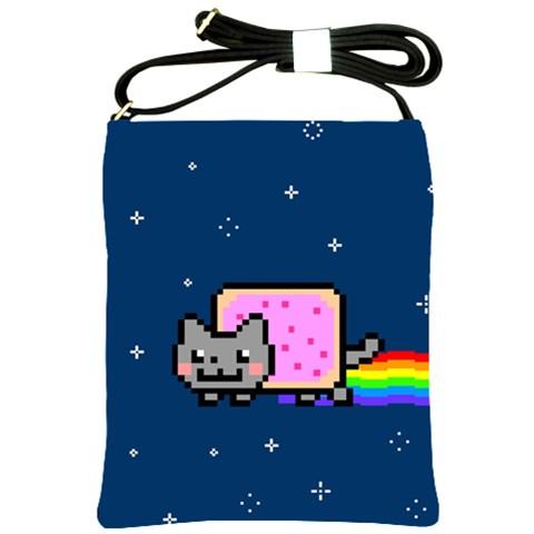 Nyan Cat Shoulder Sling Bags
