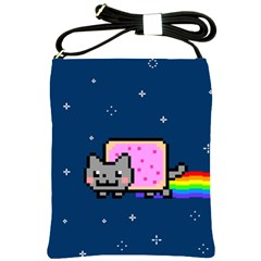 Nyan Cat Shoulder Sling Bags
