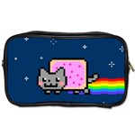 Nyan Cat Toiletries Bags Front