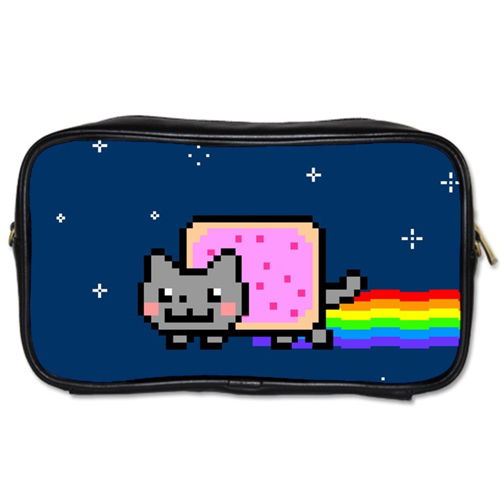 Nyan Cat Toiletries Bags