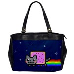 Nyan Cat Office Handbags Front